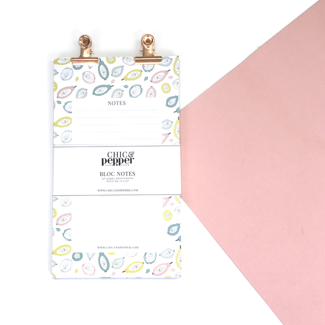 note pad chic and pepper 4