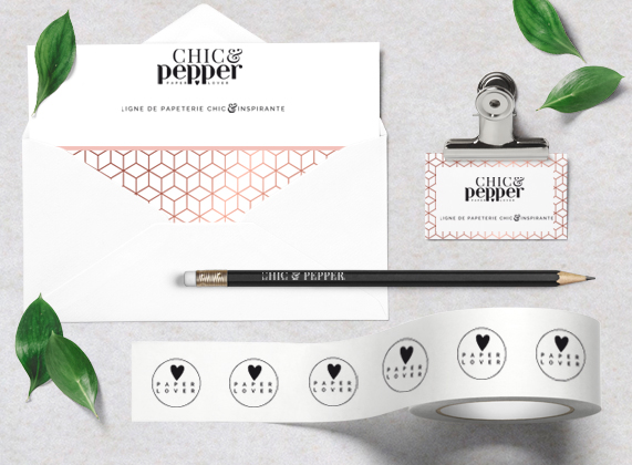 visuel contact chic and Pepper