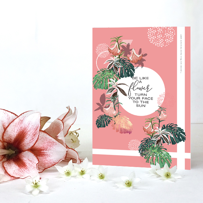 cahier flower sun chic and pepper 2