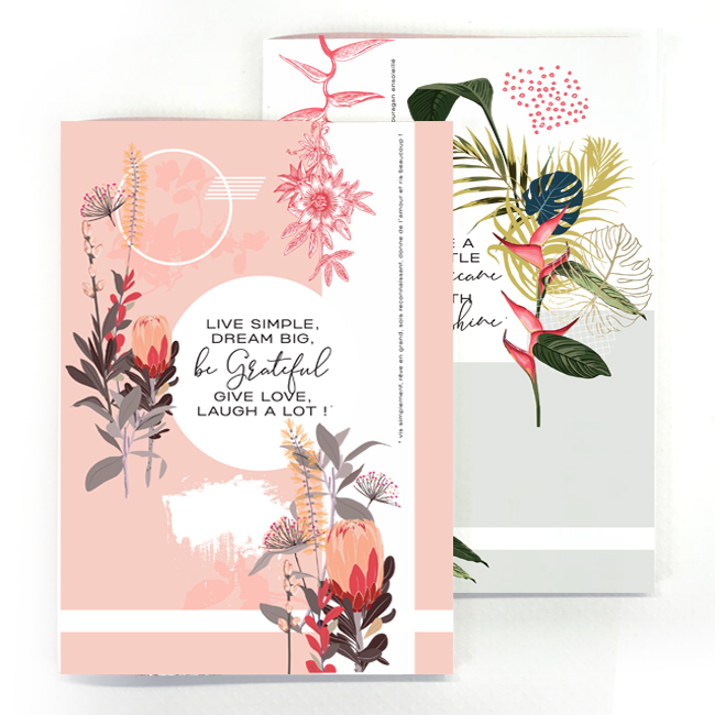 duo cahier chic and pepper life simple – little hurricane