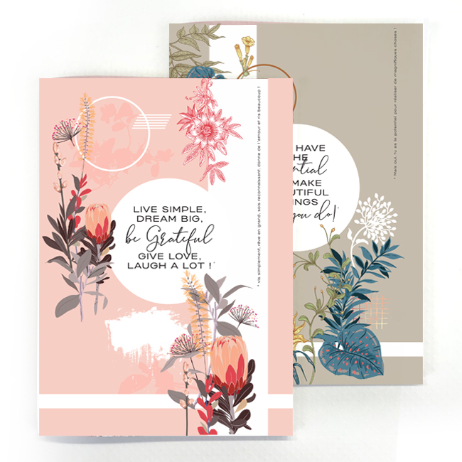 duo cahier chic and pepper life simple – make beautiful thing