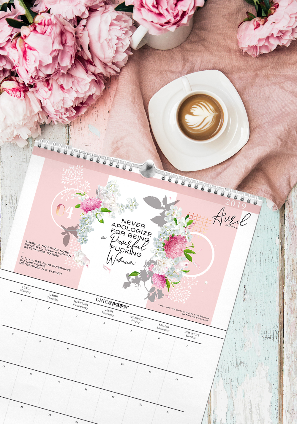 mood board collection blooming girl boss chic and pepper 5