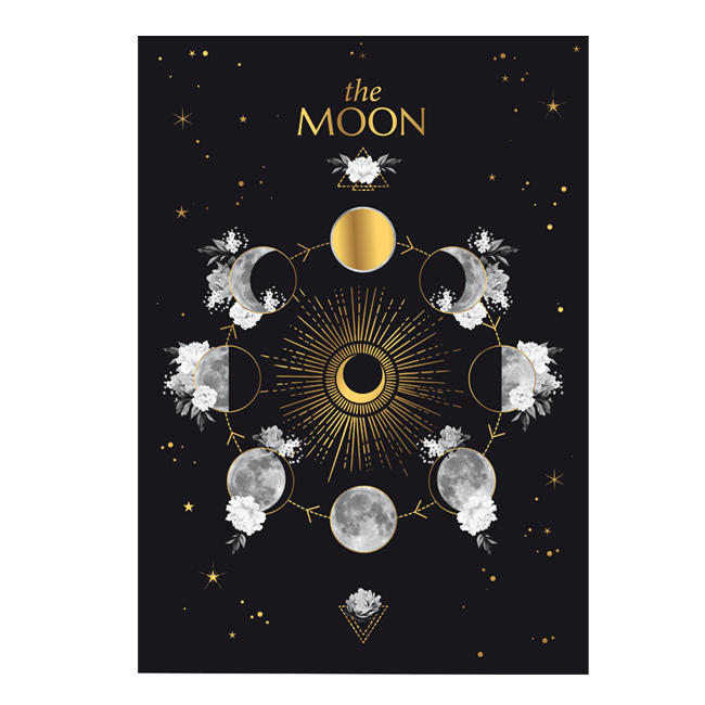 affiche moon or chic and pepper
