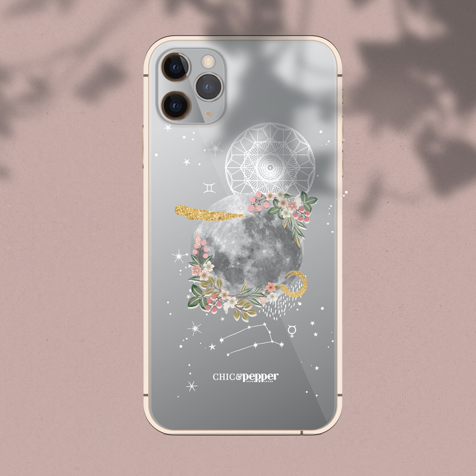 Coque silicone astro gemeaux Chic and Pepper