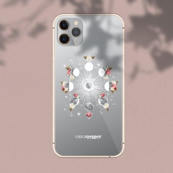 Coque silicone cycle de la lune Chic and Pepper