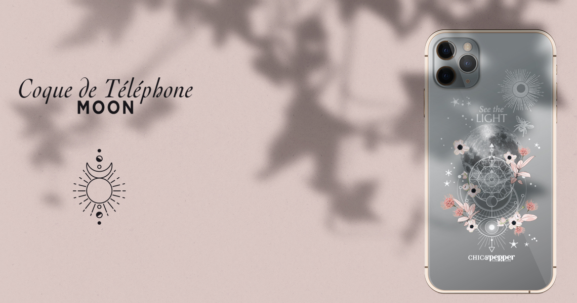 coque silicone chic and pepper